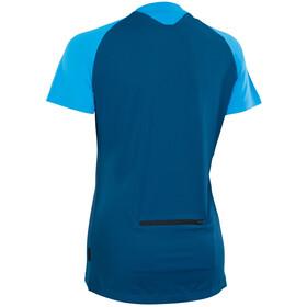 ION Traze Button Camiseta Manga Corta Mujer, ocean blue